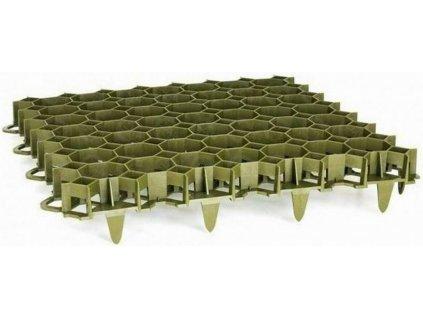 Zatrávňovacia dlažba PVC dlaždica 50 x 50 x 6,2 cm PROFI Garden zelená VÝPREDAJ