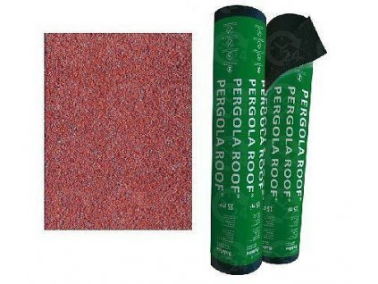 Asfaltový pás PERGOLA ROOF modifikovaný červený ONDULINE šindel 15m2