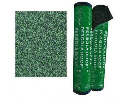 Asfaltový pás PERGOLA ROOF modifikovaný zelený ONDULINE  šindel 15m2