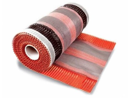 Hrebeňový a nárožný pás samolepiaci 310 x 5000 mm gaštan