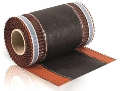 Vetrací pás nárožia samolepiaci 310 x 5000 mm čierna ECO ROLL