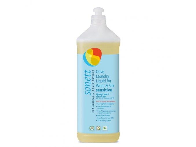 sonett olivovy praci gel na vlnu a hedvabi sensitiove 1l
