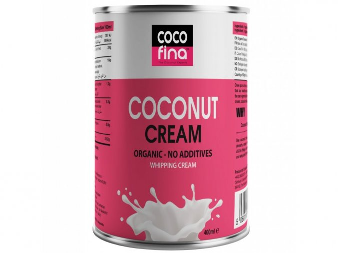 2442 cocofina bio kokosova smetana s obsahem 90 kokosove duziny