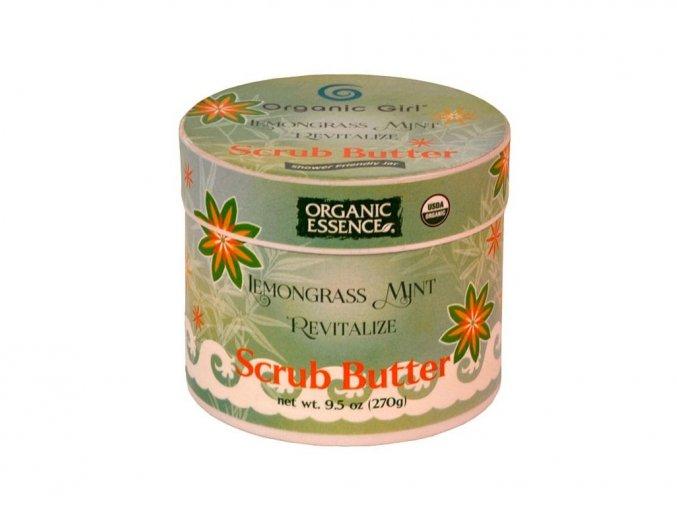 671 organic essence bio telovy peeling s bambucym maslem a citronovou travou a matou 270g