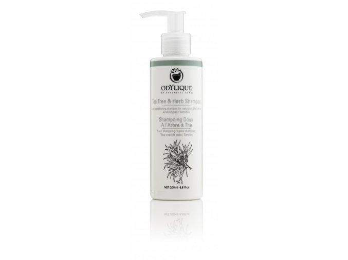 ODYLIQUE - Bylinný šampon s TEA TREE olejem 200ml (velikost balení 200ml)
