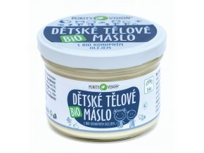 purity vision detska telove maslo 200ml