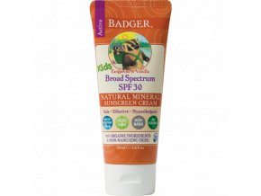 vyr 257kids sunscreen cream spf30 badger