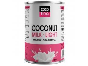 Cocofina Organic Coconut Milk Light 400ml Tin