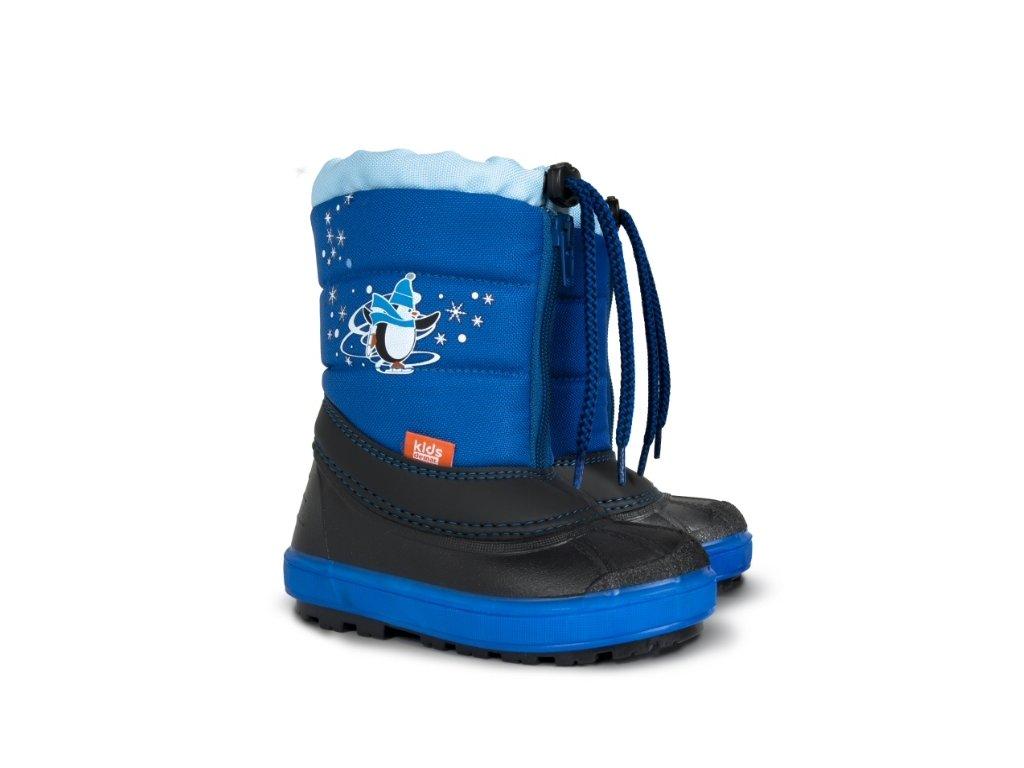Dětské sněhule Demar Kenny 1502 A modrá - Novotný NOPO CB d65465121d