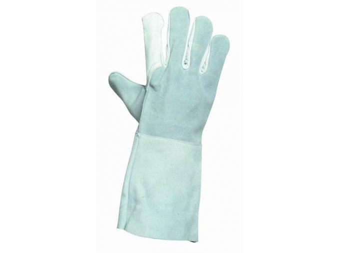 CRANE celokožené svářecí rukavice v.10