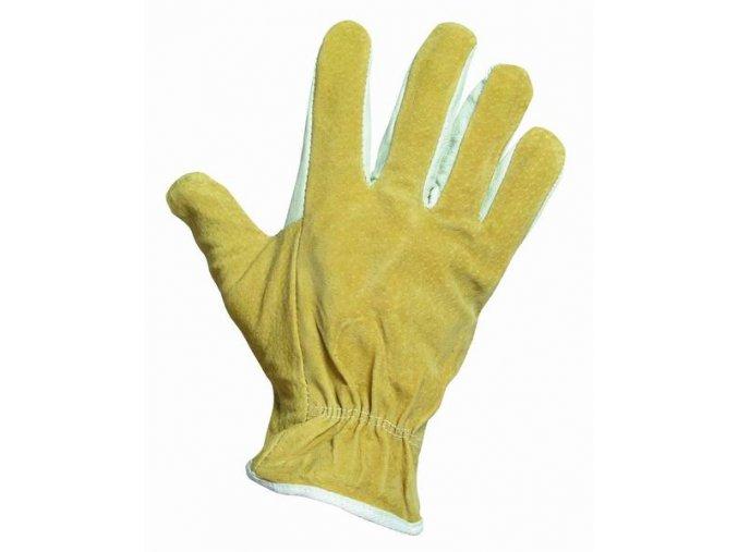 HERON celokožené pracovní rukavice v.10