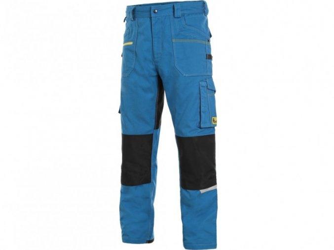kalhoty modré