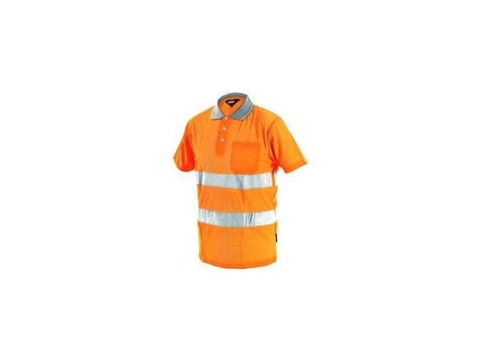 oranžové tričko
