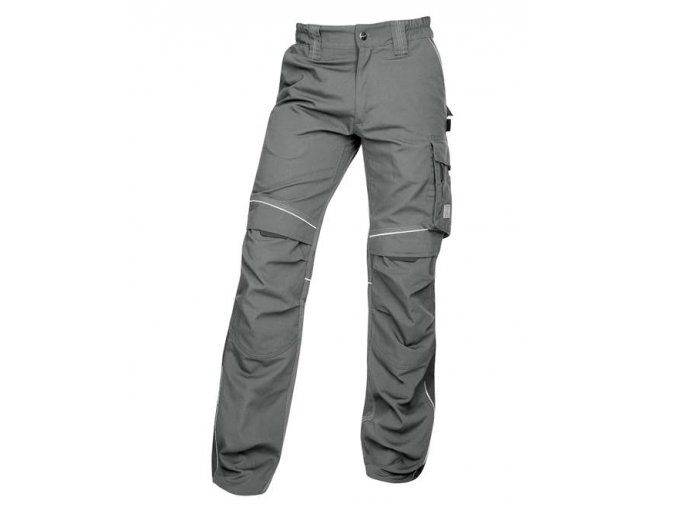 Kalhoty do pasu URBAN šedé  + 3 páry rukavic Petrax +