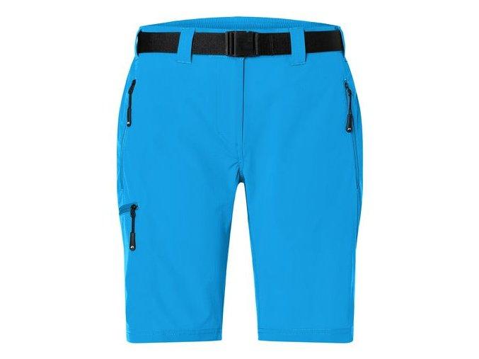 JN1203 James & Nicholson Dámské outdoorové kraťasy modré
