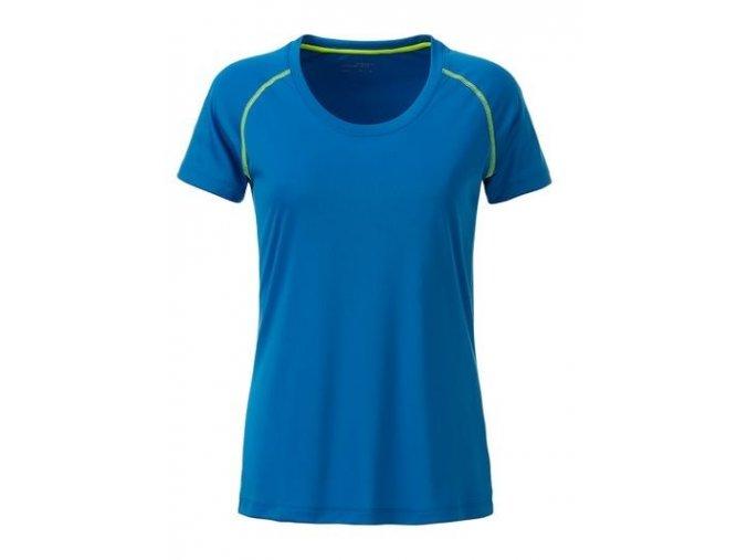 Dámské funkční tričko JN495 modré