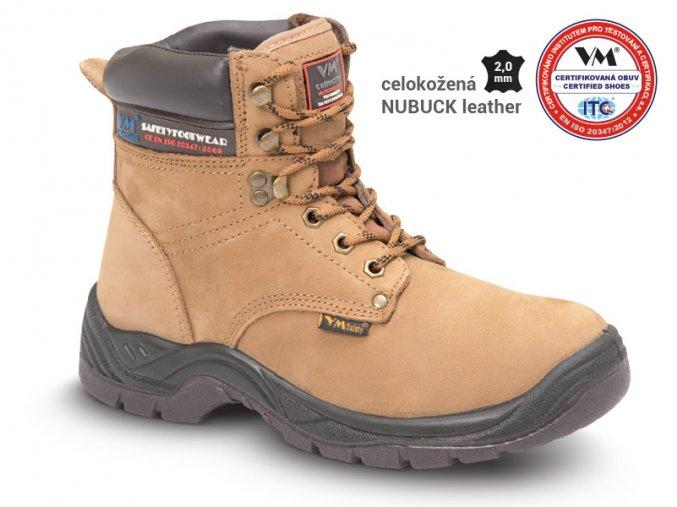 VM VADUZ 2770-01W zimní kotníková obuv