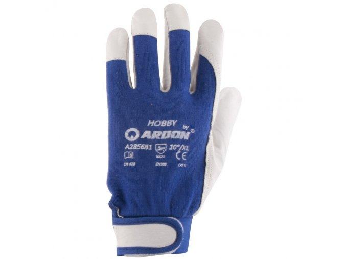 HOBBY rukavice kombinované