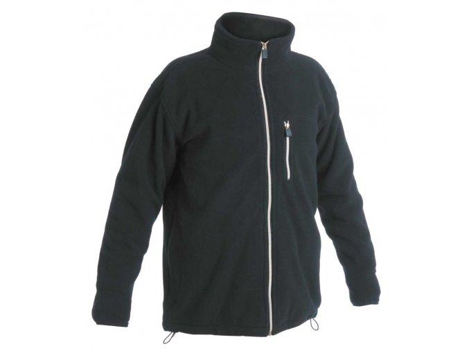 KARELA fleecová bunda tmavě modrá