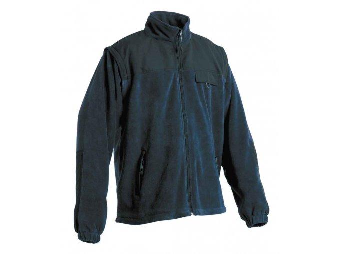 RANDWIK fleecová bunda 2v1 modrá
