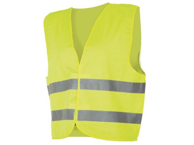Výstražná vesta LYNX / ALEX žlutá