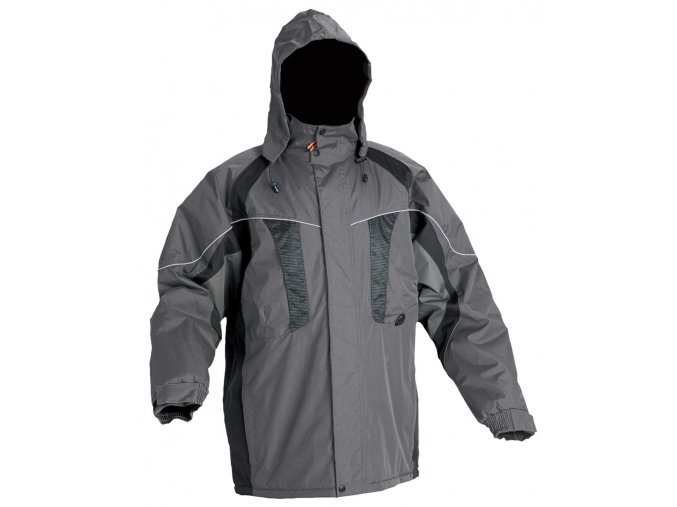 NYALA bunda zimní,  šedá