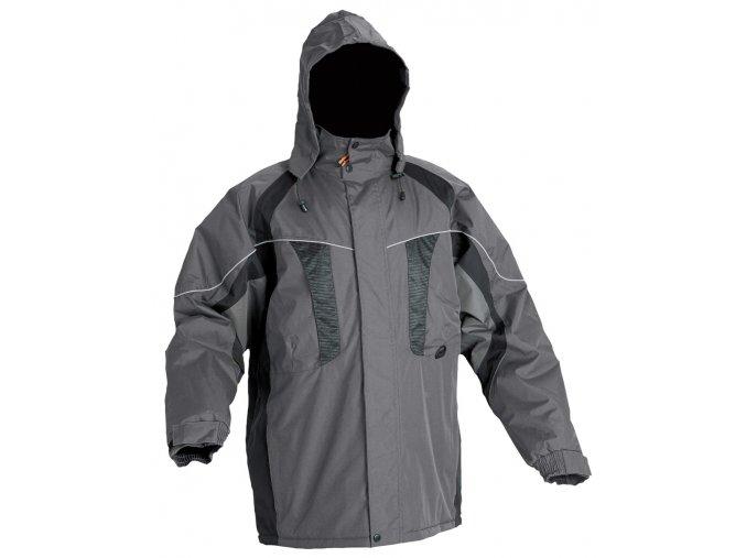 NYALA bunda zimní šedá