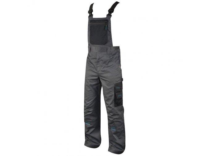4TECH kalhoty lacl šedo-černé