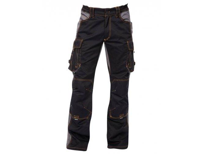 ARDON VISION kalhoty pas černo-šedé  + 3 páry rukavic Petrax +