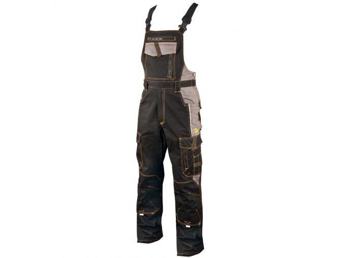 ARDON VISION  kalhoty s laclem černo-šedé