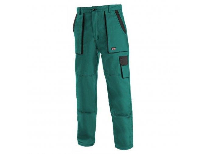 LUX JOSEF monterkové kalhoty zeleno-černé