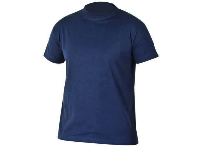TEESTA triko bavlněné tmavě modré