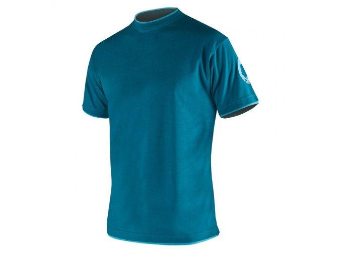 4TECH tričko modré