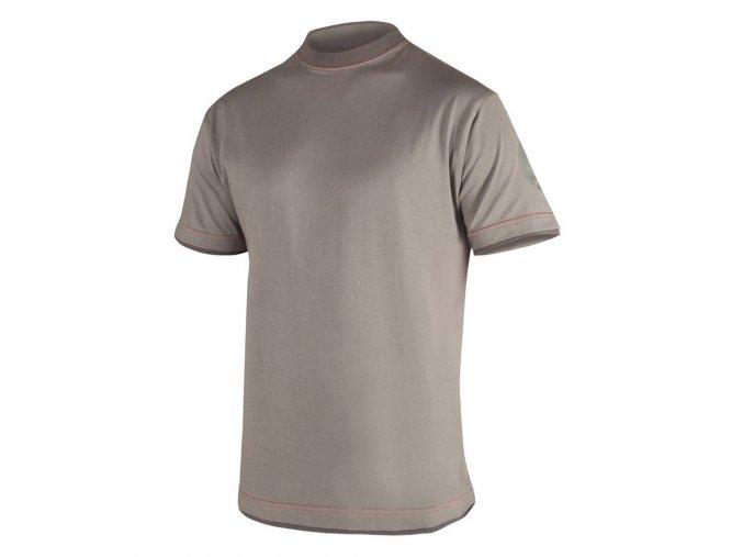 4TECH tričko šedé