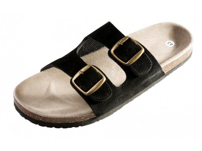 PUDU pantofle černé