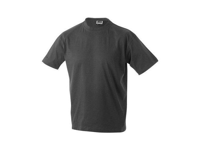 James a Nicholson JN002 pánské tričko 4XL tmavě šedé