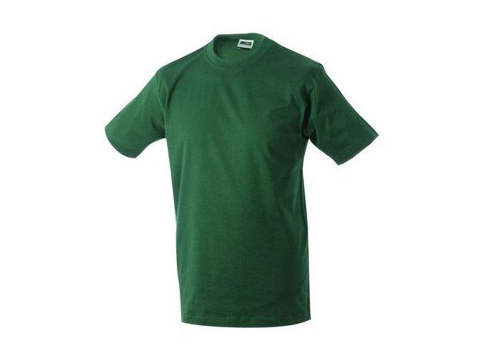 James a Nicholson JN002 pánské tričko 5XL tmavě zelené