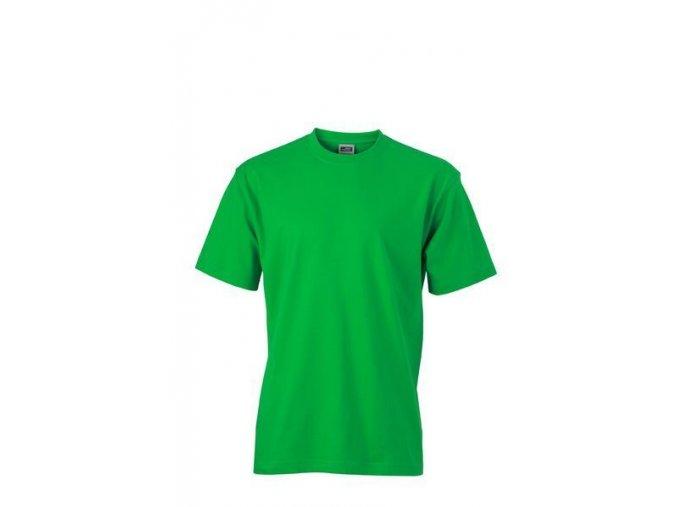 James a Nicholson JN002 pánské tričko 5XL zelené