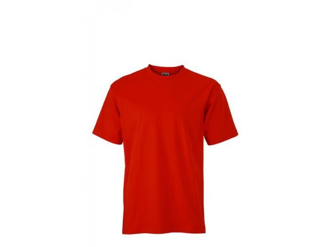 James a Nicholson JN002 pánské tričko 5XL červené
