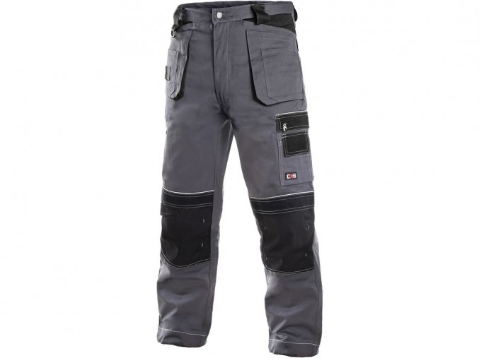 ORION Teodor kalhoty do pasu šedo/černé