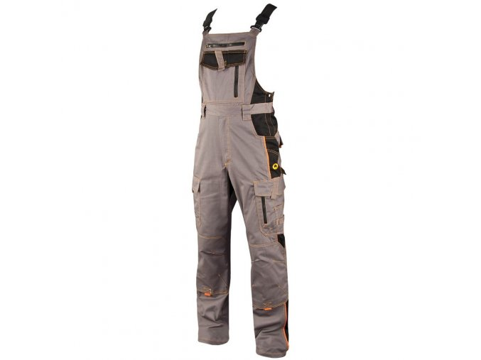 ARDON VISION kalhoty lacl šedo-černé  + 3 páry rukavic Petrax +