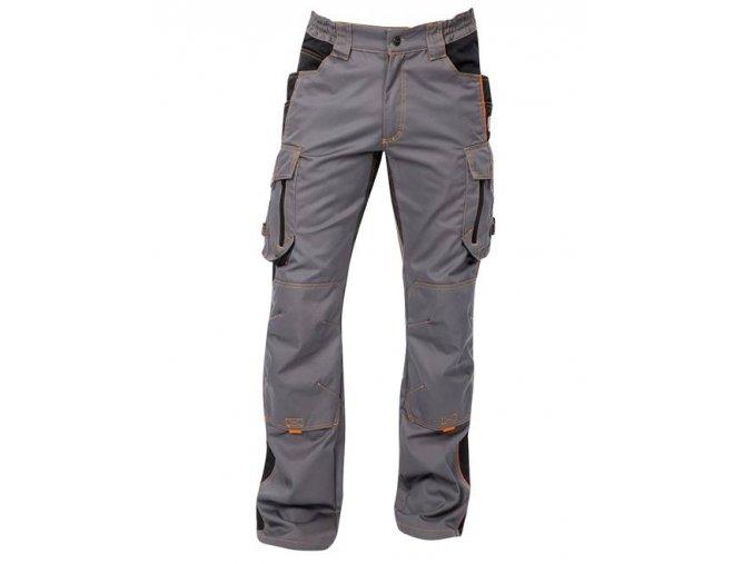 ARDON VISION  kalhoty pas šedo-černé  + 3 páry rukavic Petrax +