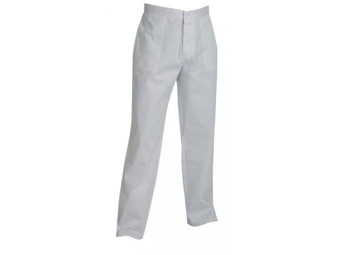 Kalhoty do pasu pánské bílé