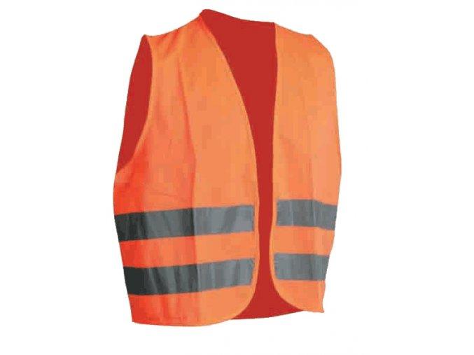 Reflexní vesta LYNX / ALEX oranžová