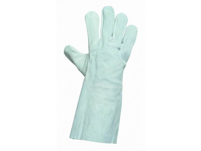 MERLIN celokožené pracovní rukavice v.10