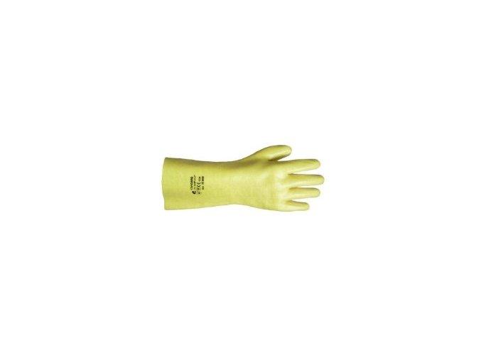 STANDARD kyselinovzdorné rukavice gumové
