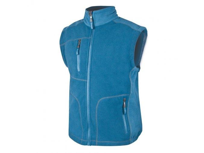 ARDON MARTIN vesta fleecová modrá