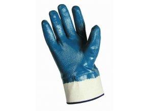 Swift rukavice celomáčené v nitrilu modré - Pela