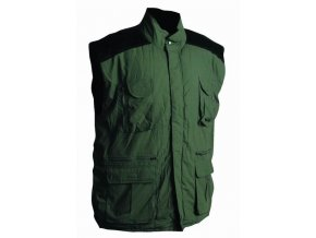 DAVIDA zimní vesta zelená OHIO