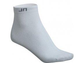 James a Nicholson funkční ponožky kotníkové JN206 bílé